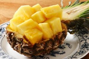 パイナップルの効能とおすすめレシピ