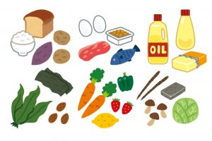 コーンスナックの栄養成分表