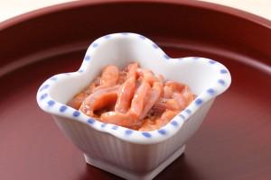 塩辛(イカの塩辛)の効能とおすすめレシピ、食品成分表
