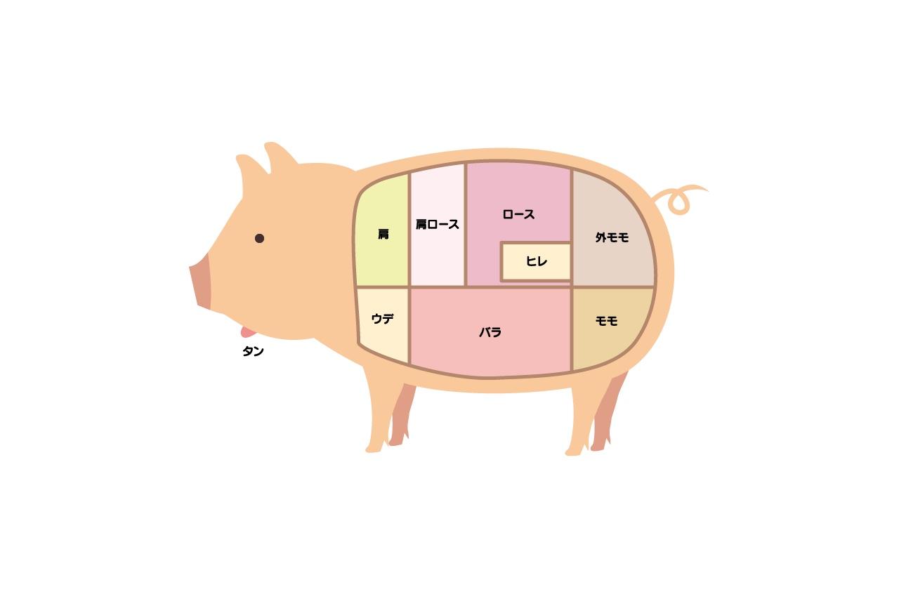 ショルダーハムの栄養成分表
