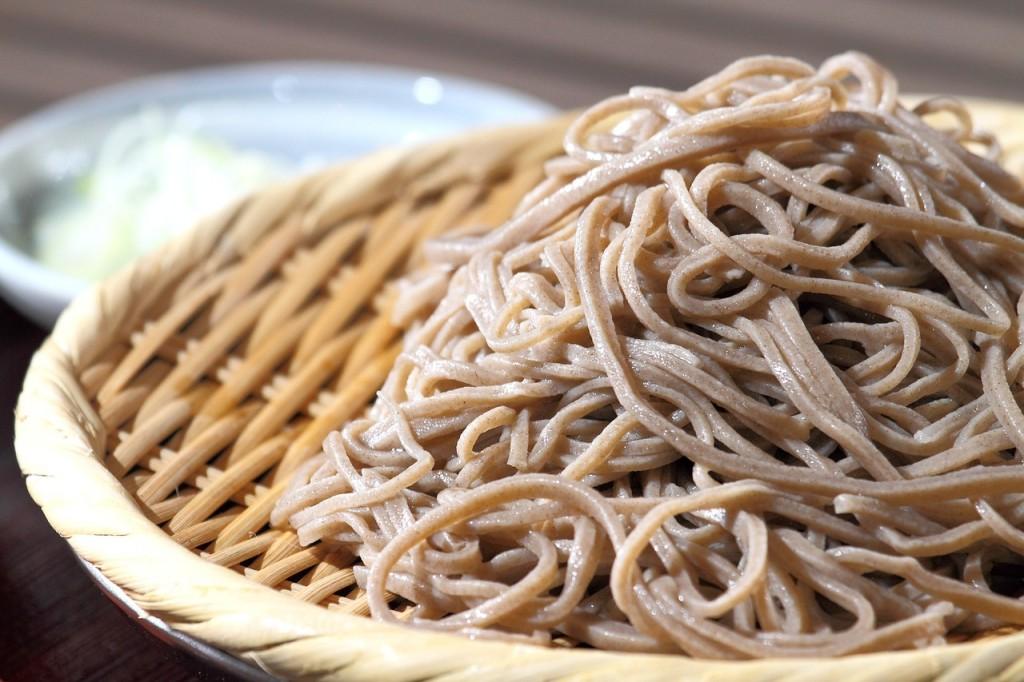 蕎麦の効能とおすすめレシピ、食品成分表