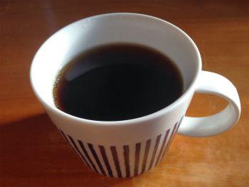 ホットのオルゾコーヒー