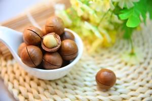 マカダミアナッツの効能とおすすめレシピ、食品成分表