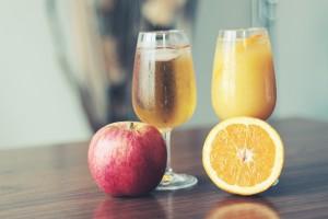 りんごジュースの栄養成分表