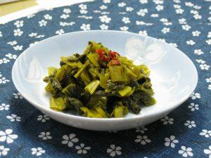 高菜の効能とおすすめレシピ、食品成分表