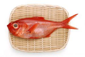 金目鯛の効能とおすすめレシピ