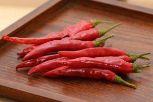 トウガラシの効能とおすすめレシピ、食品成分表