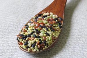 雑穀の効能とおすすめレシピ、食品成分表