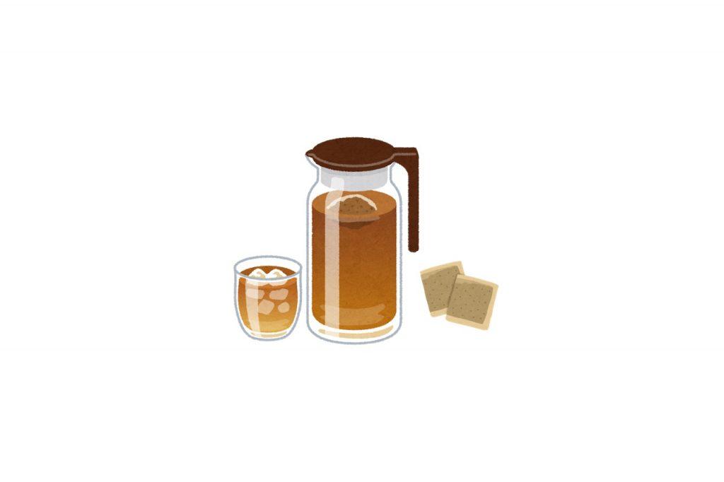 麦茶の効能とおすすめレシピ、食品成分表