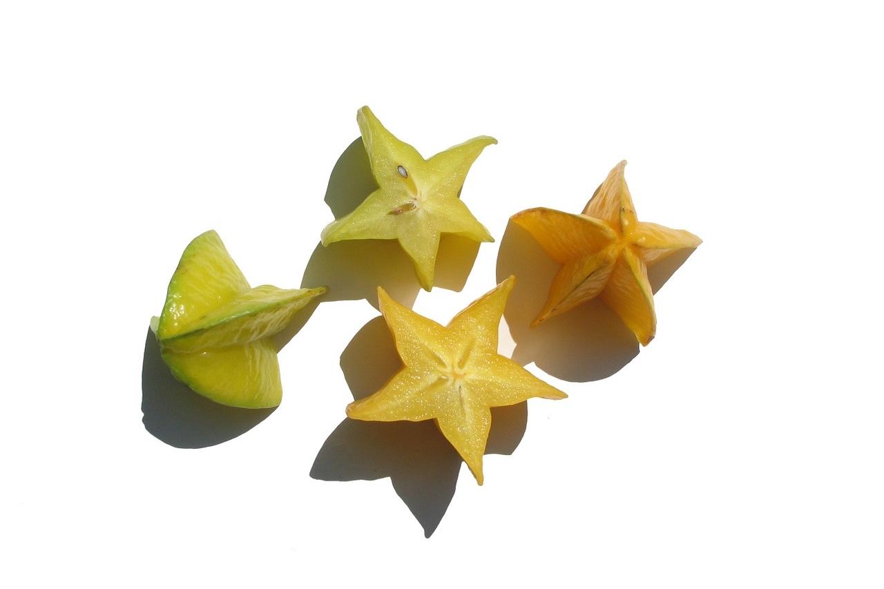 スターフルーツの栄養とおすすめレシピ、食品成分表