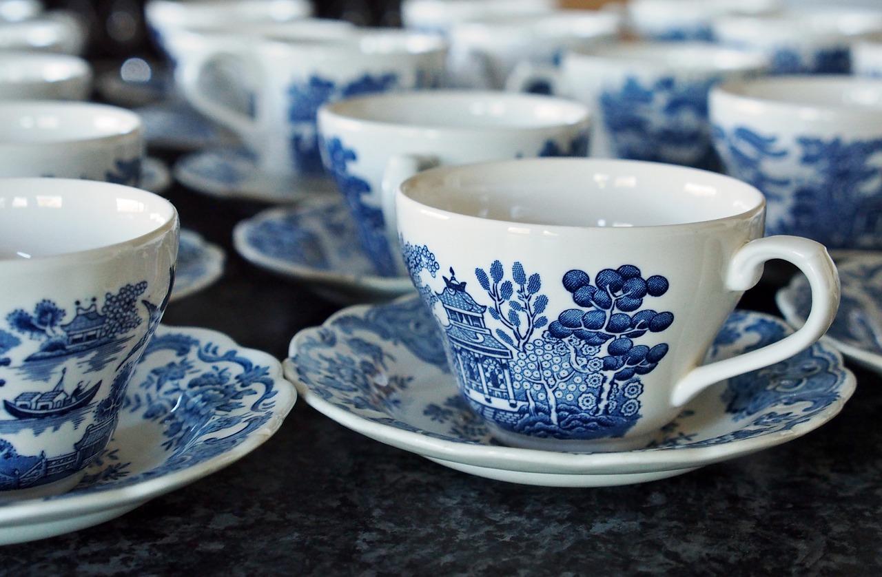 中国茶のカップ