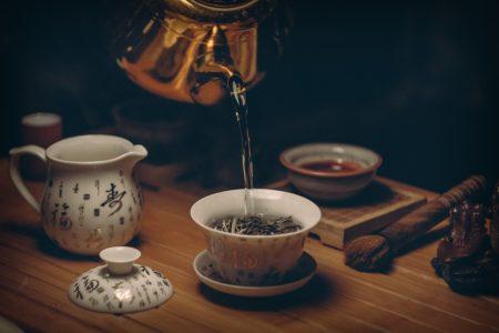 中国茶の礼