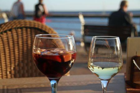 サングリアとワイン