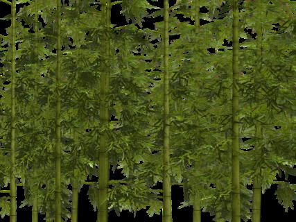 竹の葉アート